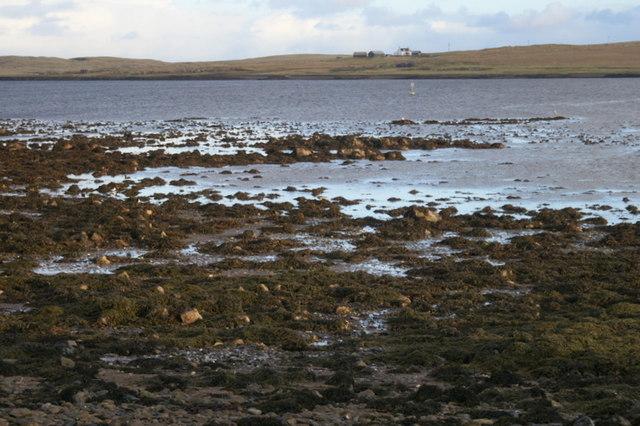 Low tide at Buness, Baltasound
