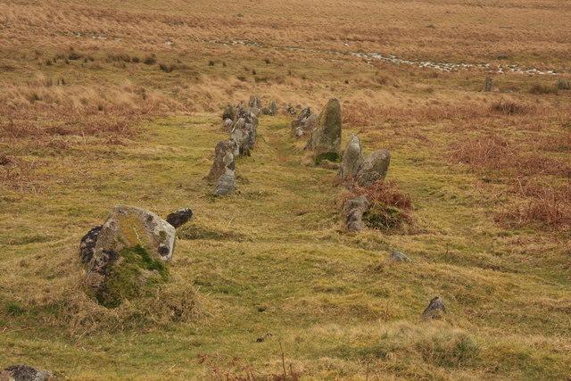 Trowlesworthy Stone Row