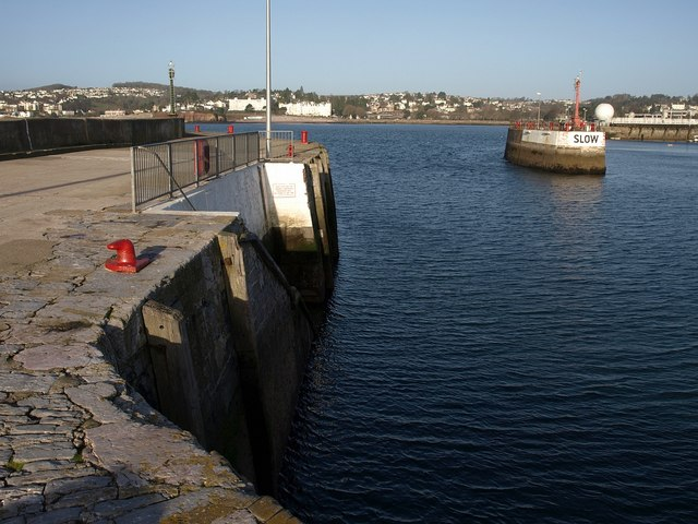 Torquay harbour entrance