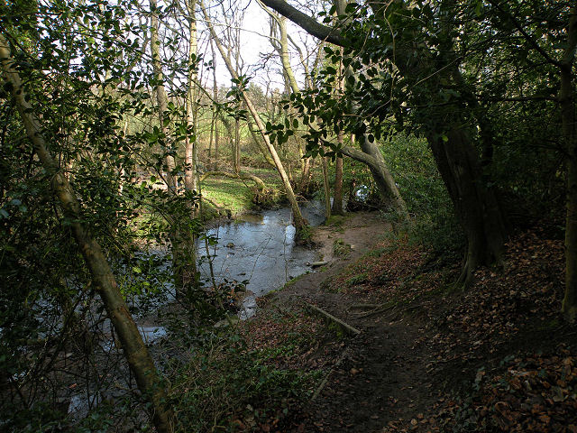 Ringway Footpath by Oak Beck