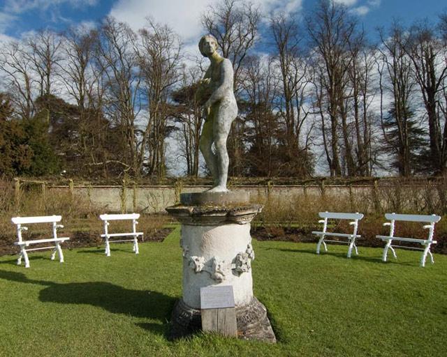 Venus Statue in the Rose Garden