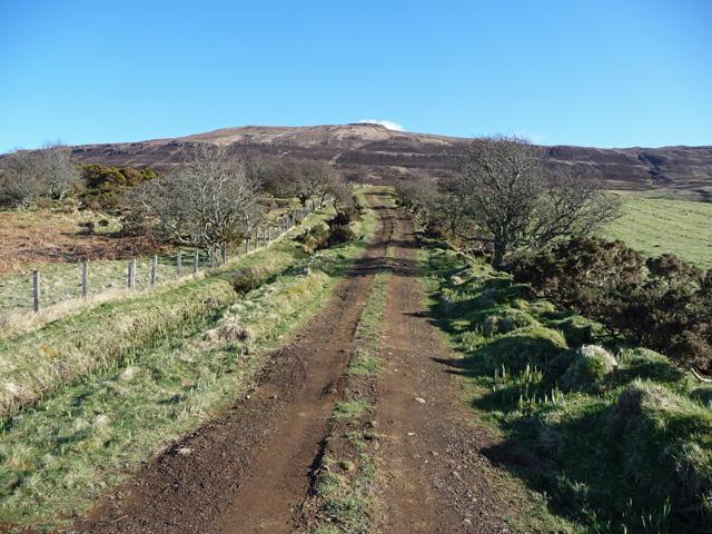 Track towards Beinn Bhreac