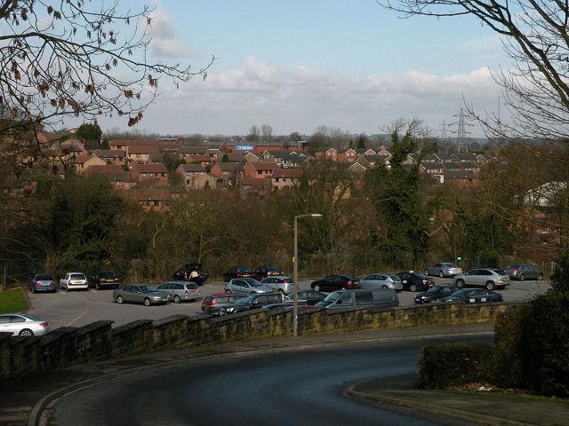 View from Oakdale Glen