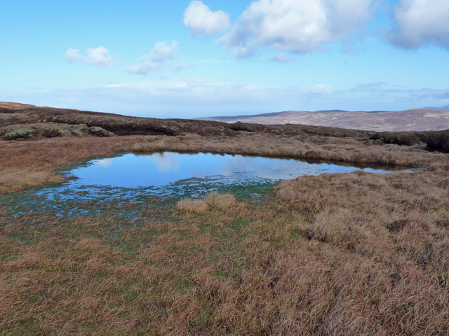 Bog on Beinn Bhreac