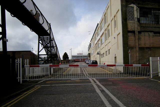 Level Crossing at Wellgate, Arbroath