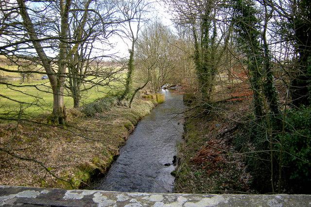 Brothock Burn looking downstream