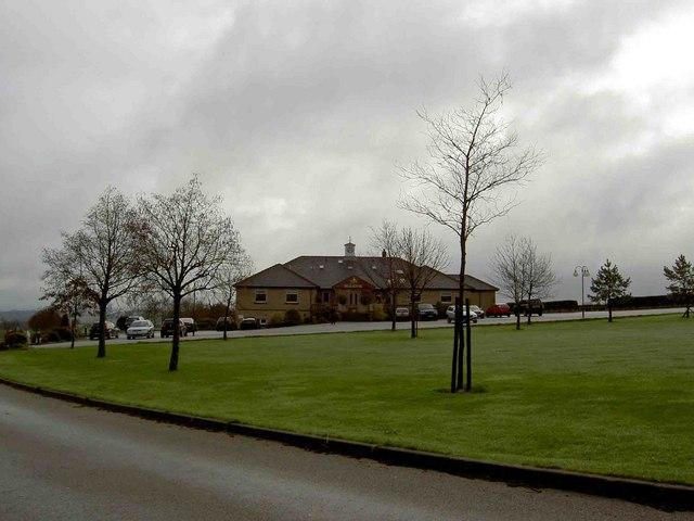 The Manor Golf club house