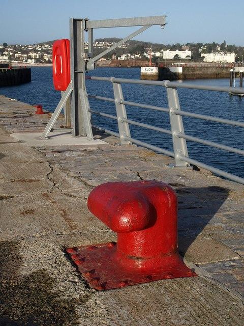 Bollard, Haldon Pier