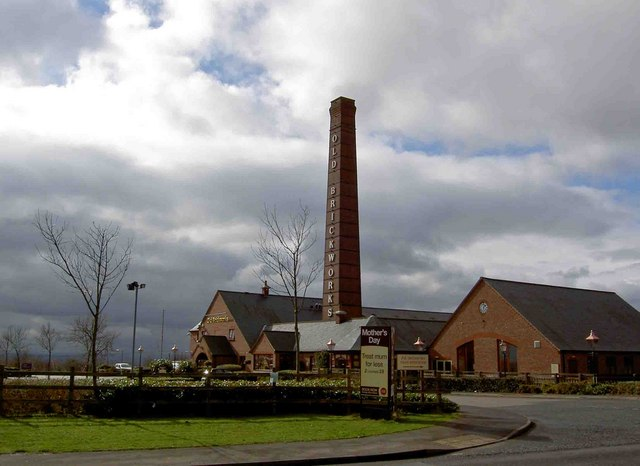 The 'Old Brickworks' Premier Inn hotel