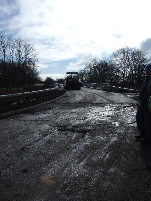 Road will re-open in 3 days