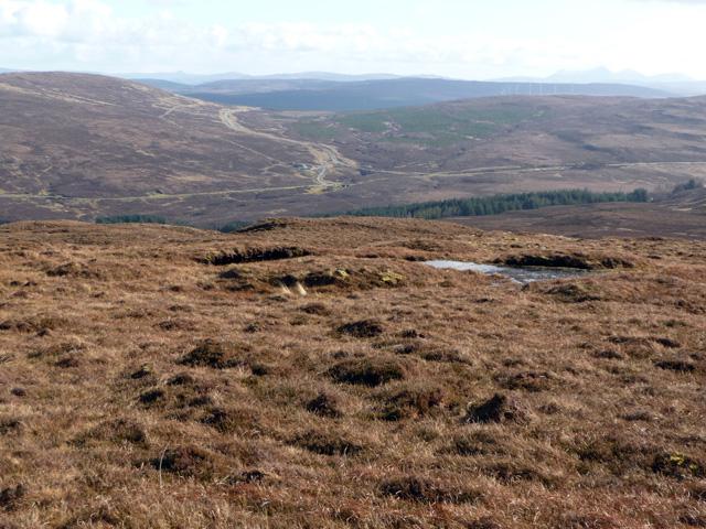 Eastern slopes of Beinn Bhreac