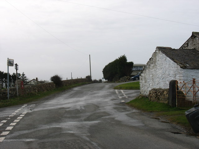 Penylon crossroads on the Gadfa road