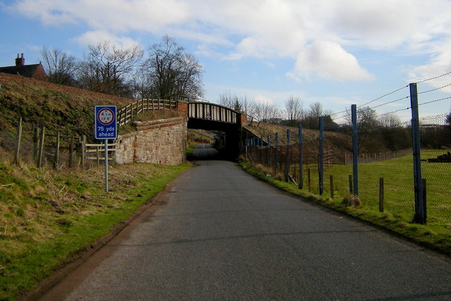 Railway Bridge over the St. Vigeans / Mains of Letham Road
