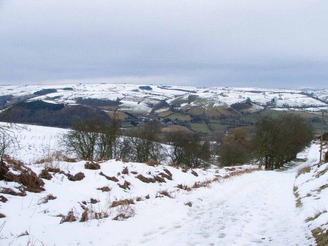 Offa's Dyke looking North