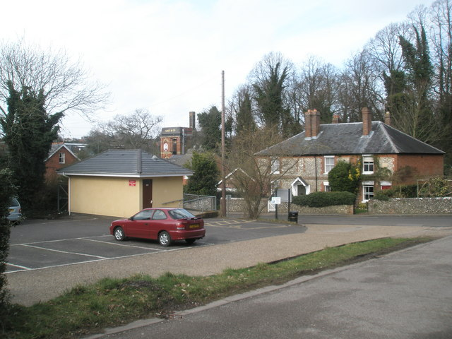 Looking from Holy Trinity Church Centre across to the former Gales Brewery