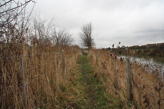 South Forty Foot Drain footpath