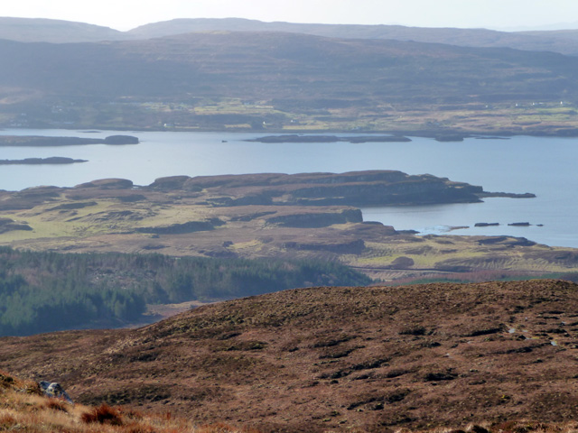 West from Beinn Bhreac