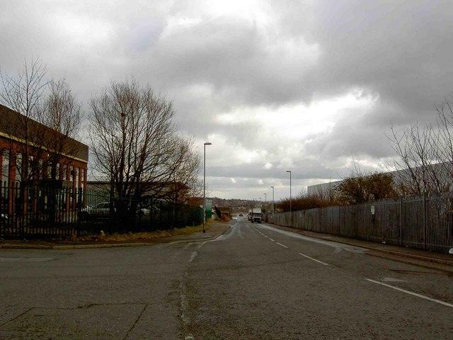 Howley Park Road industrial estate