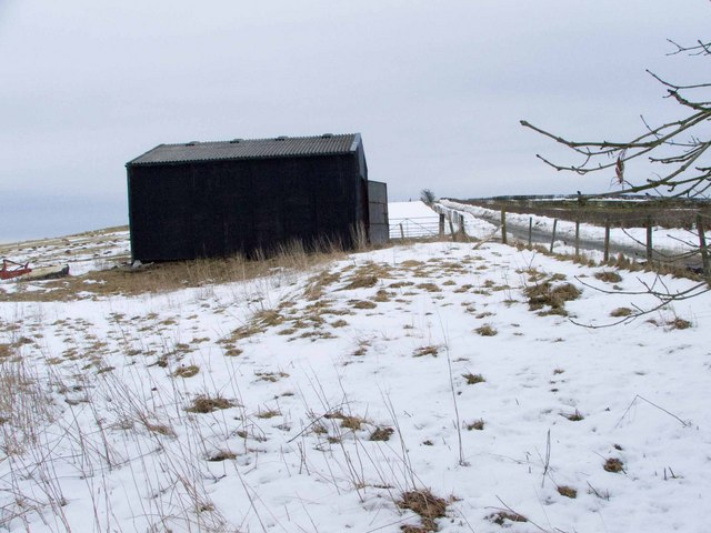 Black Shed at Springhill Farm