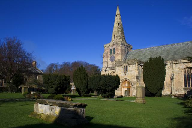 St Lawrence Church Warkworth