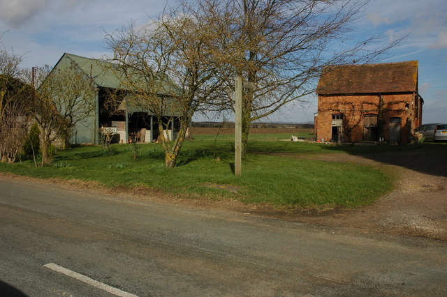 Farm buildings, Hinton on the Green