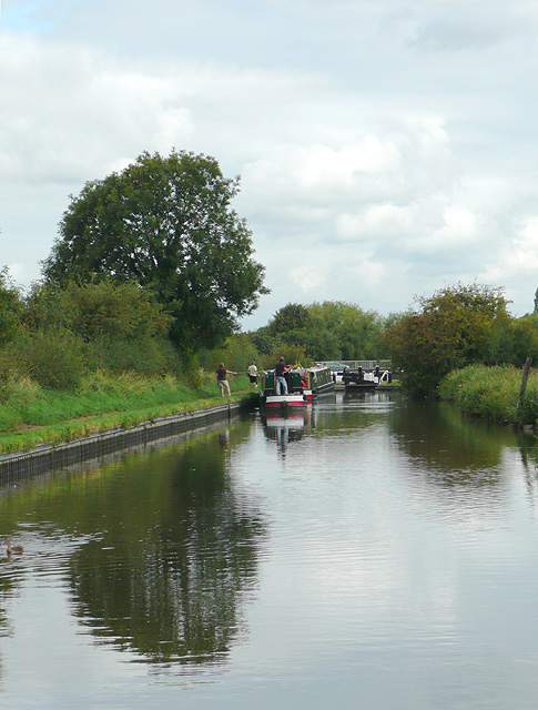 Staffordshire and Worcestershire Canal near Penkridge, Staffordshire