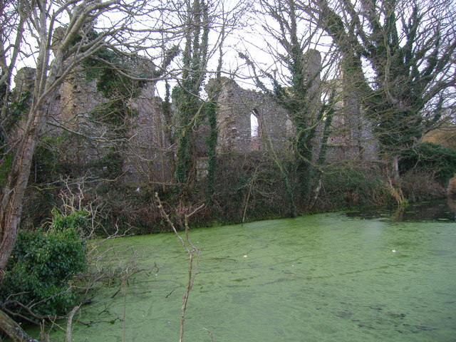 St Mary's Priory and the Pond