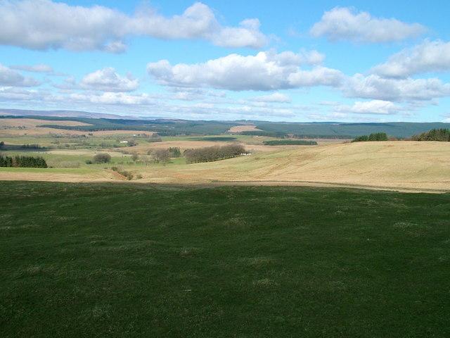 Across the fields towards Stockasteads