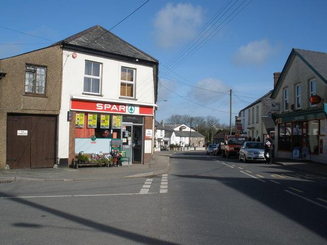Spar convenience store, Kilkhampton