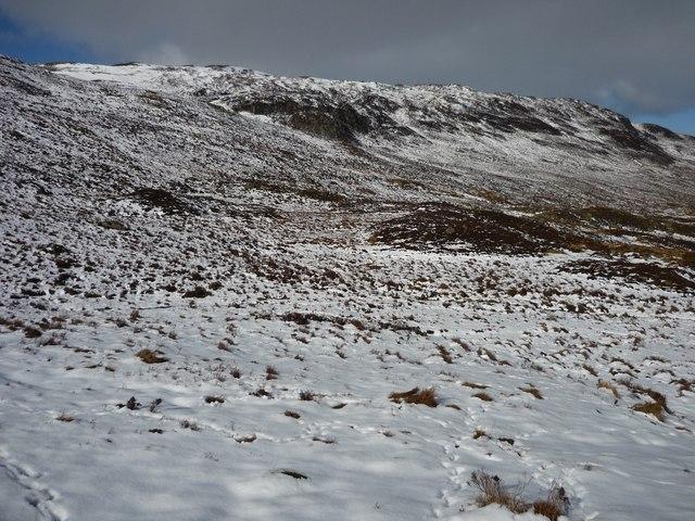 Hillside in Gleann Da-Eig