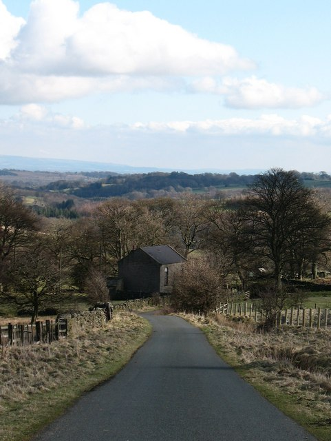 Country Lane at Breary Banks