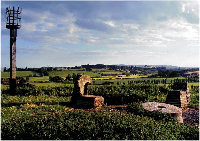 Remains of St Leonard's Windmill, Winchelsea