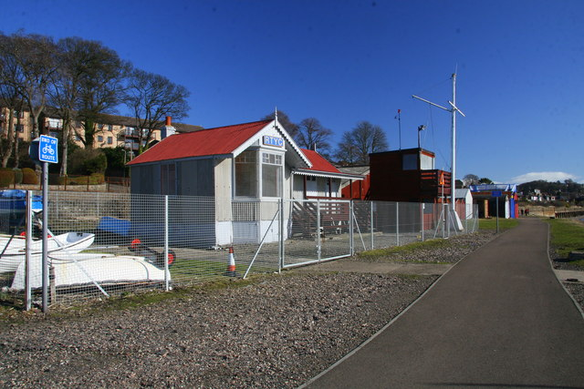 Beach club house (RTYC), Broughty Ferry