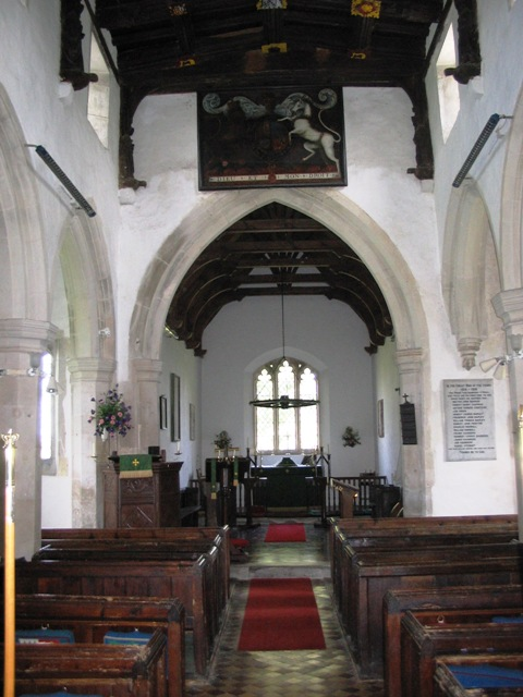 Puttenham Church interior