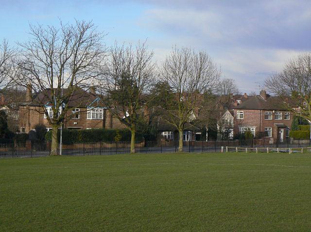 Houses on Woodthorpe Drive