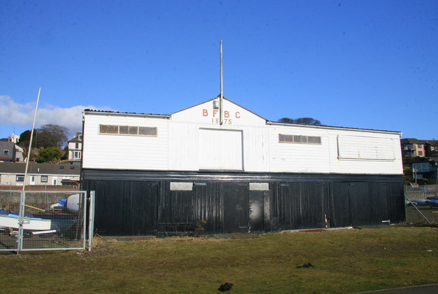 BFBC clubhouse, Broughty Ferry