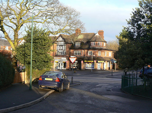 Shops on Mansfield Road