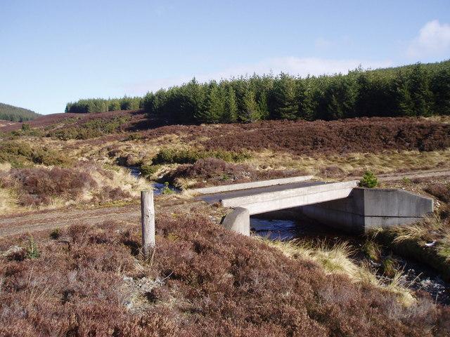 Bridge in Gleann Seileach