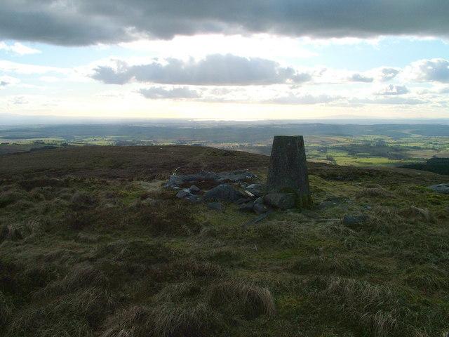 Long Crag Trig Pillar
