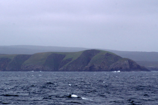 Horse of Burravoe from the sea