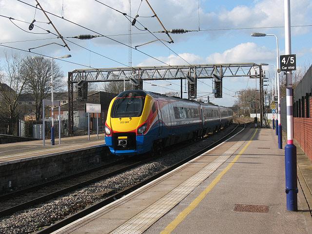 Bedford railway station: East Midlands