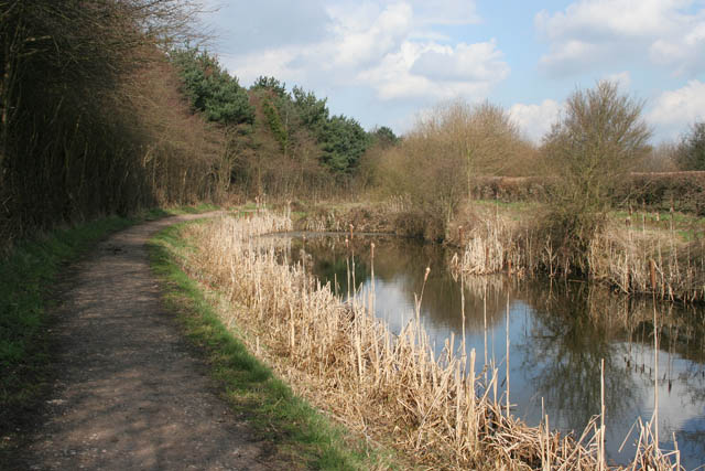 The Nottingham Canal near Cossall