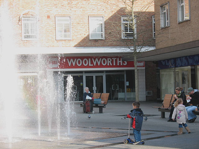 Woolworths, Bedford, after closure