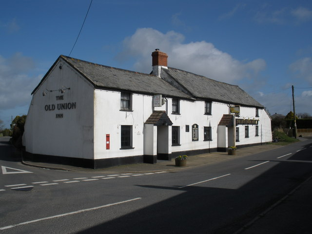 The Old Union Inn, Stibb Cross