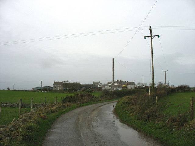 The hamlet of Penygraigwen