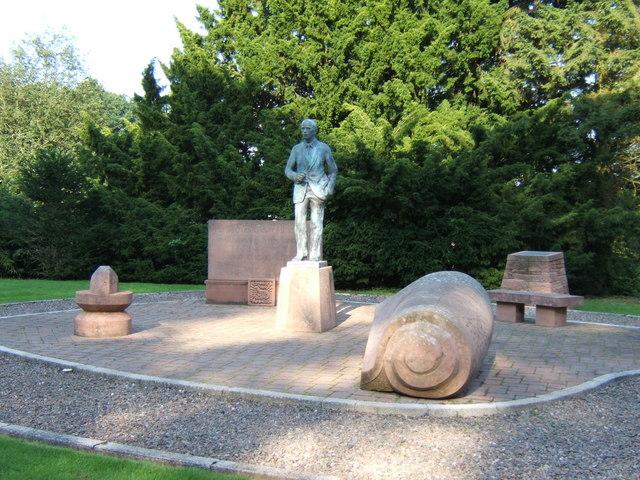 Memorial to Sir Alec Douglas-Home