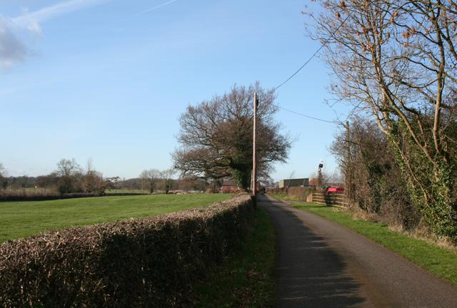 Bank Lane, Burland