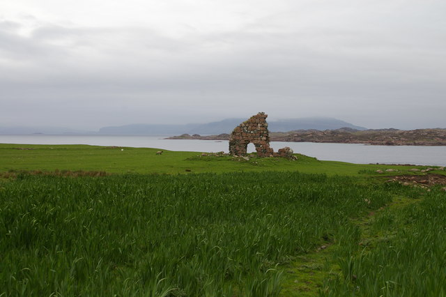 Ruins from Iona Abbey