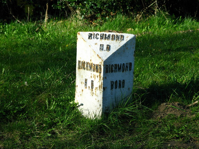 Richmond Boundary Stone