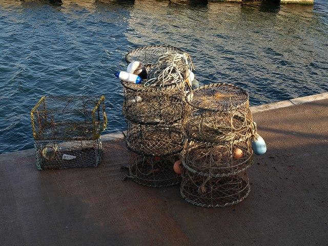 Lobster / crab pots, Torquay
